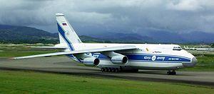 Oleg Antonov (aircraft designer) - An-124-100 Ruslan strategic airlifter.