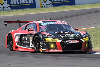 2016 Liqui Moly Bathurst 12 Hour - The Class AA-winning Audi R8 LMS of Nathan Antunes, Barton Mawer and Greg Taylor.