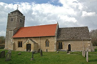 Appleton, Oxfordshire - Image: Appleton St Lawrence south