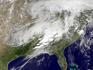 2011 Super Outbreak - The storm system responsible for the historic tornado outbreak on April 27