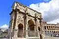 Arch of Constantine - Rome, Italy - DSC01389.jpg
