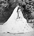 Archduchess Maria Theresa of Austria in her wedding gown.jpg