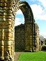 Archway, Kilwinning Abbey.JPG