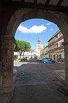 Arco del antiguo recinto amurallado de la Villeta, La Guardia.JPG