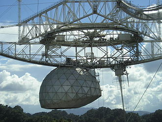 Arecibo Observatory - Image: Arecibo Observatory Aerial