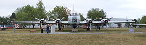 National Air Force Museum of Canada - Canadair CP-107 Argus at National Air Force Museum of Canada