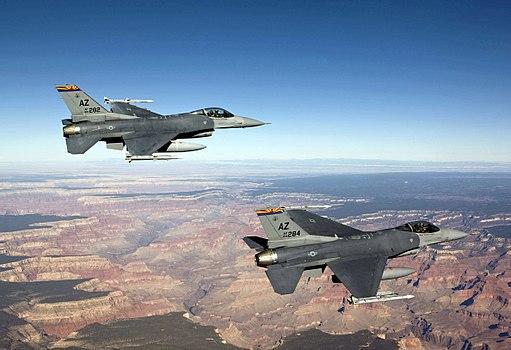Arizona ANG F16 GrandCanyon
