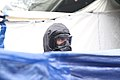 Army National Guard Soldier goes through the Decontamination Line at Guardian Response 17 170509-A-LI523-199.jpg