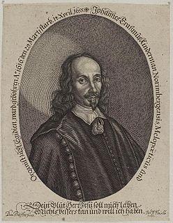 Johann Erasmus Kindermann German composer and organist