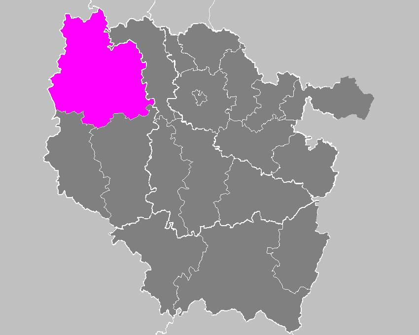 Location of Verdun in Lorraine