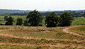 Art earthwork landscape sculpture Woodland Trust Theydon Bois Essex 05.JPG