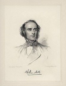 Stipple engraving by William Holl, Jr., 1863