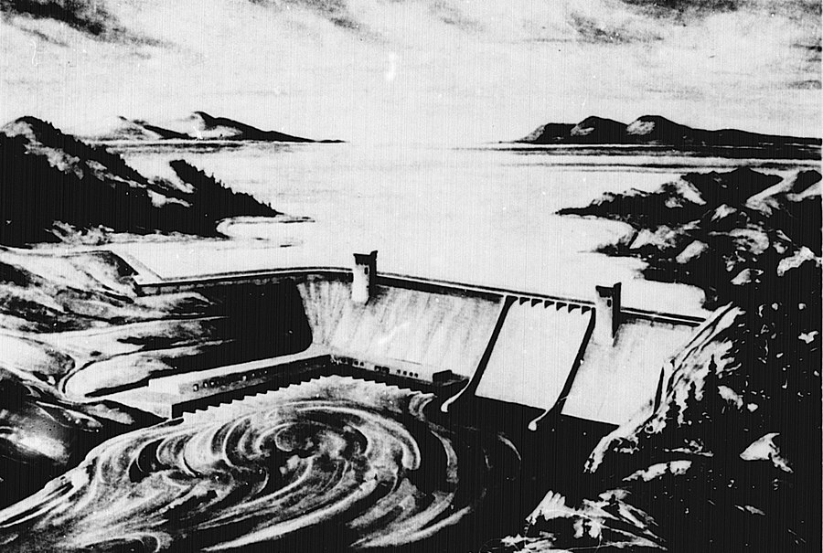 Rampart Dam
