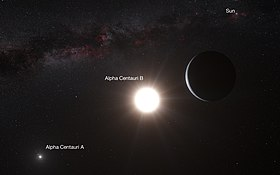 Image illustrative de l'article Alpha Centauri
