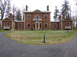 Ashland (Henry Clay estate) - A view of the front of the house