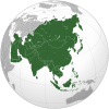Asia (orthographic projection)