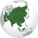 Asia (orthographic projection).svg