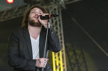 Danny Worsnop with Asking Alexandria at With Full Force Festival 2013 Asking Alexandria-8.jpg