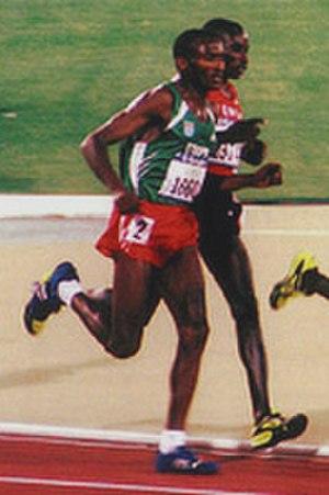 Assefa Mezgebu - Image: Assefa Mezgebu, Patrick Ivuti, 2000