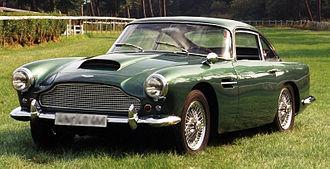 Aston Martin DB4 - 1960 Aston Martin DB4 (Series 2)