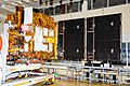 Astrosat-1 in clean room with its solar-arrays deployed.jpg