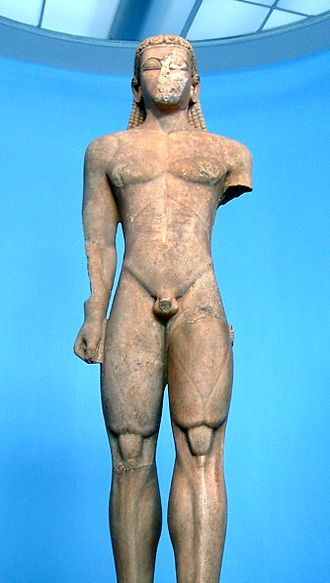 Sounion Kouros - Up close look at the modeling of the Sounion Kouros