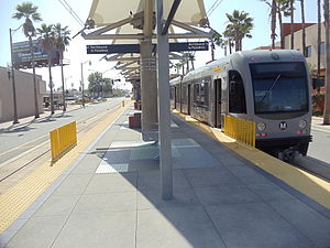 Atlantic station (Los Angeles Metro) - Atlantic Station is currently the eastern terminus of the Metro Gold Line.