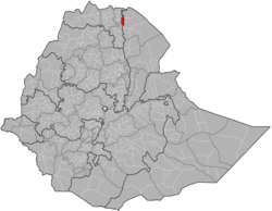 Location of Atsbi Wemberta