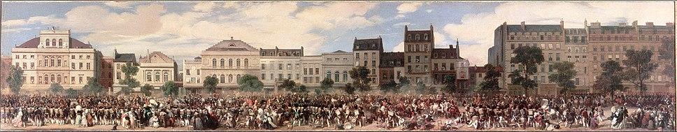 Attentat de Fieschi - 28.07.1835 - 2 (Eugène Lami)