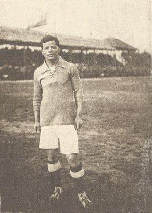 Aurelio Domínguez - Domínguez with Colo-Colo during 1920s.