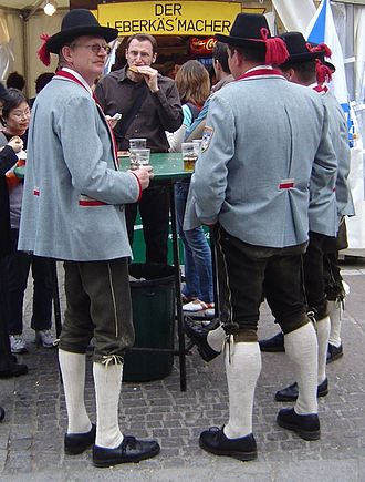 Tracht - Austrian men in their Tracht