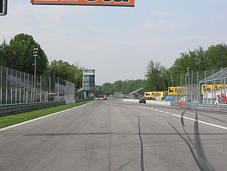 Autodromo Nazionale Monza - The 1120-metre start/finish straight.