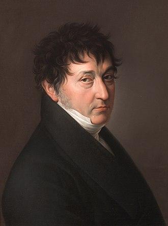 Zacarías González Velázquez - Self-portrait (1810s)