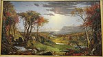 Autumn - On the Hudson River, by Jasper Francis Cropsey, 1860, oil on canvas, view 1 - National Gallery of Art, Washington - DSC00060.JPG