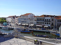 Downtown of Aveiro.