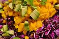 Avocado, mango og rød spidskål (6323335706).jpg