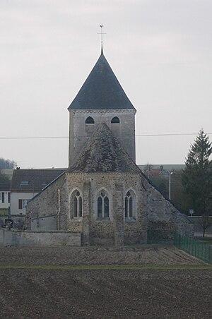 Avon-la-Pèze - Image: Avon la Pèze église 03