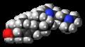 Azacosterol molecule spacefill.png