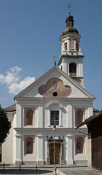 Rhäzüns - Parish church of the Immaculate Conception in Rhäzüns