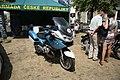 BMW police motorcycle at Legendy 2018 in Prague.jpg