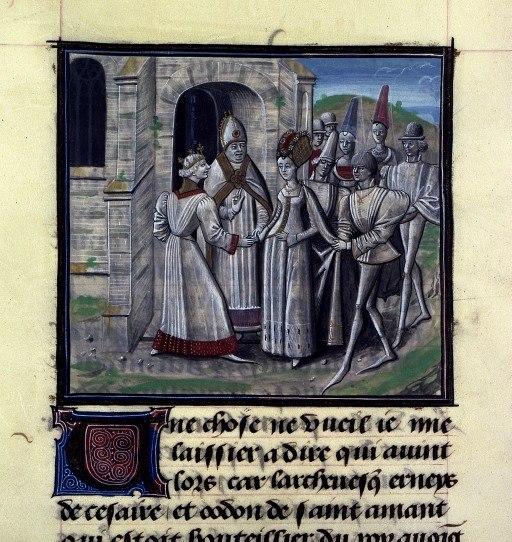BNF, Mss fr 68, folio 318v