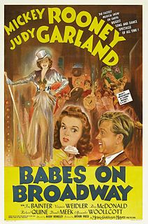 <i>Babes on Broadway</i> 1941 film by Vincente Minnelli, Busby Berkeley