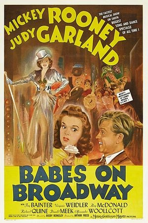 Babes on Broadway - Theatrical Film Poster