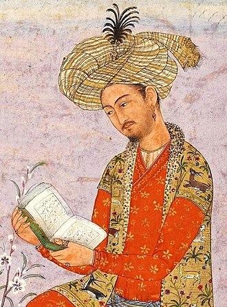 Mughal emperors - Image: Babur of India