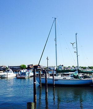 Babylon (village), New York - Babylon Village Dock on the Great South Bay