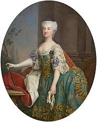 Portrait of Konstancja Czartoryska (1700–1759).