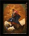 Baciccio, madonna in gloria che schiaccia il serpente, bozzetto per la volta della chiesa del gesù.jpg