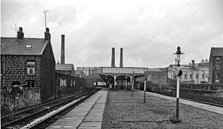 Bacup railway station English railway station from 1852 to 1966