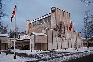 Bagsværd Church Lutheran church in Bagsværd, Denmark, designed by Jørn Utzon