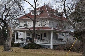 National Register of Historic Places listings in Jackson County, Missouri - Image: Bailey Family Farm, Lee's Summit, MO